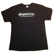 drumdots Basic Black T-Shirt